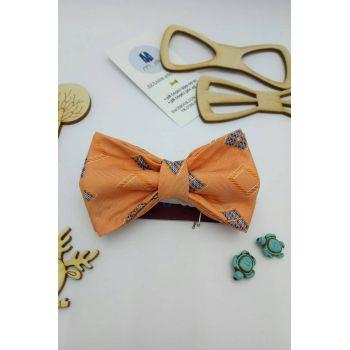 Галстук-бабочка оранжевая,детская Арт.0422
