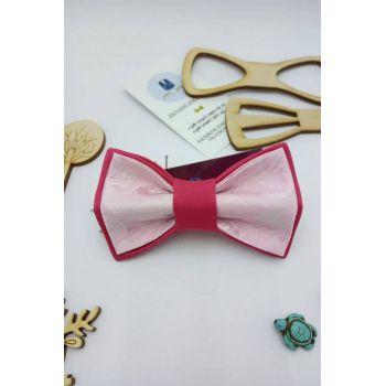 Галстук-бабочка розовая Арт. 0412