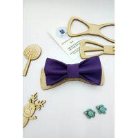 Галстук-бабочка детская, фиолетовая Арт. 0417