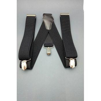 Подтяжки черные 2,5 см