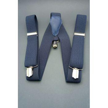 Подтяжки синие 2,5  см  Арт. 0265