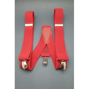 Подтяжки красные 2,5 см.Арт.0270