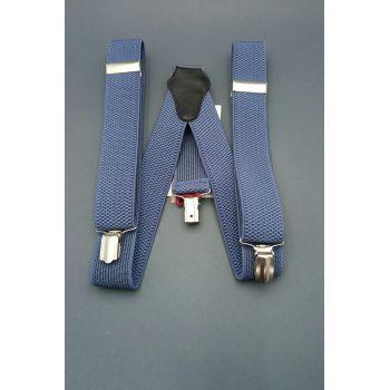 Подтяжки синие 2,5 см Арт. 0277