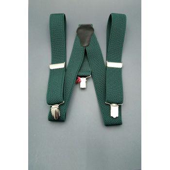 Подтяжки зеленые 2,5 см Арт. 0278
