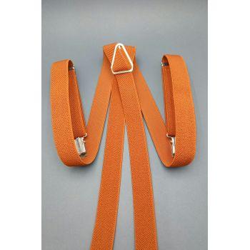 Подтяжки оранжевые 2 см  Арт. 0282