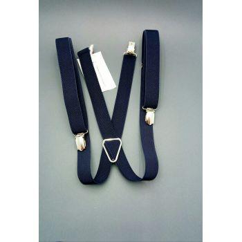 Подтяжки синие 2 см Арт. 0287