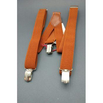 Подтяжки оранжевые 2,5 см Арт. 0289