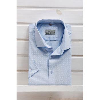 Рубашка с коротким рукавом ТМ Limitlles Арт.5063