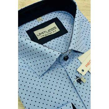 Рубашка мужская с длинным рукавом Арт. 0173