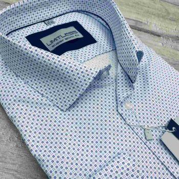 Рубашка мужская с длинным рукавом Арт. 0174