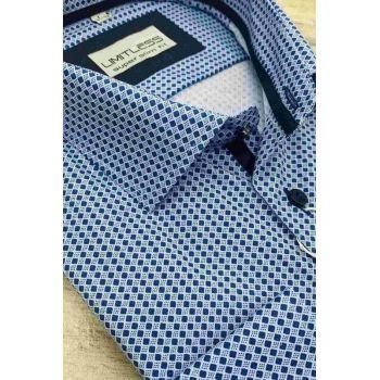 Рубашка мужская с длинным рукавом Арт. 0175