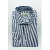 Мужская рубашка в полоску с длинным рукавом TM Limitless Арт.0186