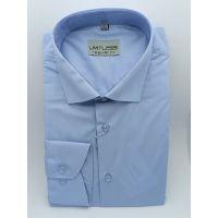 Мужская рубашка голубая ТМ Limitless Арт.0190