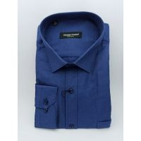 Мужская рубашка синяя TM Guzeppe Gentini Арт.0196