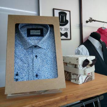 Подарочная упаковка мужской рубашки